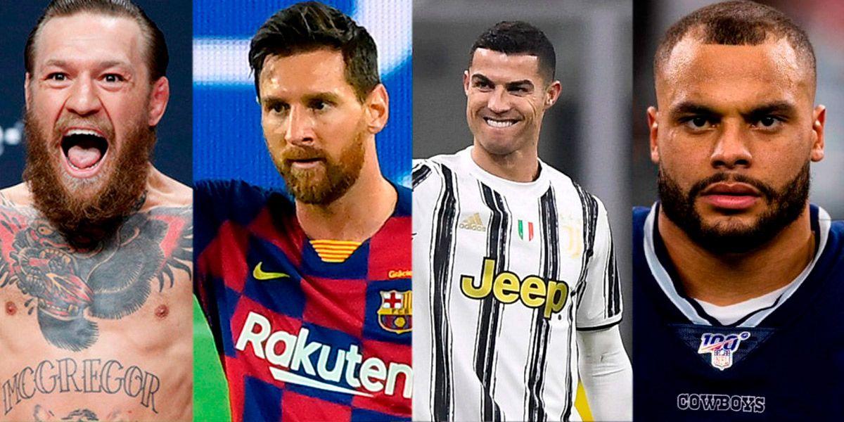 Quiénes son los 4 deportistas más ricos del mundo: ganaron más de 100 millones de dólares en 2020