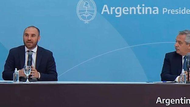 En medio de las críticas y rumores de cambio, Alberto Fernández se mostró con Martín Guzmán