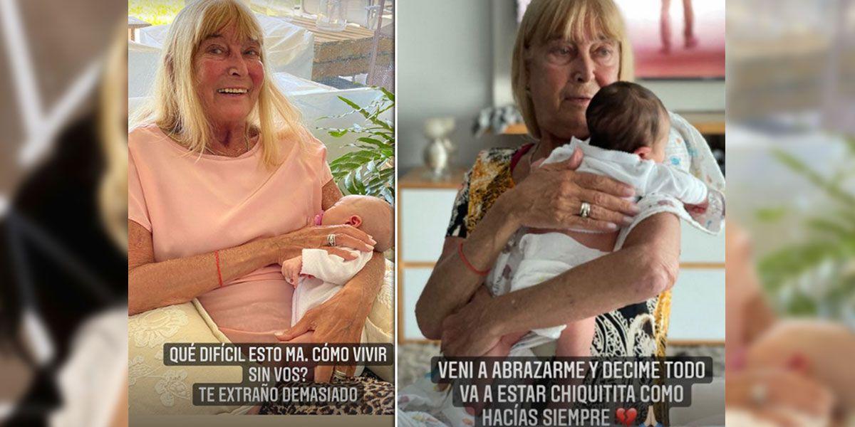 """""""Qué difícil esto, má"""": Sofía Zámolo compartió un sentido mensaje para su mamá a días de su muerte"""