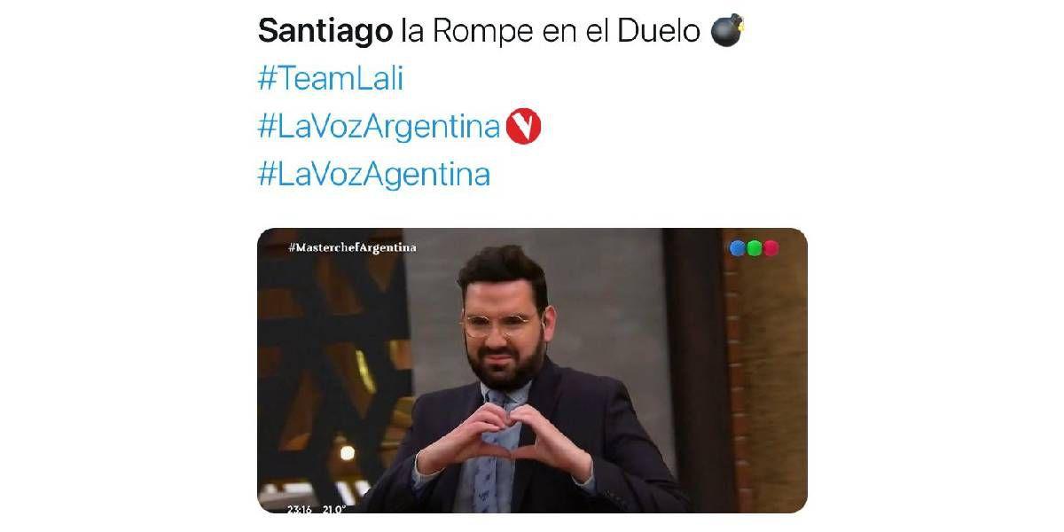 """Santi Borda pasó a la siguiente etapa de """"La Voz Argentina"""" y los memes no faltaron"""