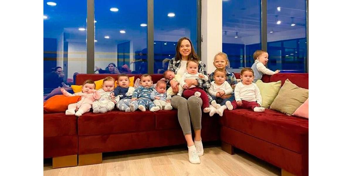Con 23 años, ya tiene 11 hijos y planea tener más de 90 por subrogación de vientre
