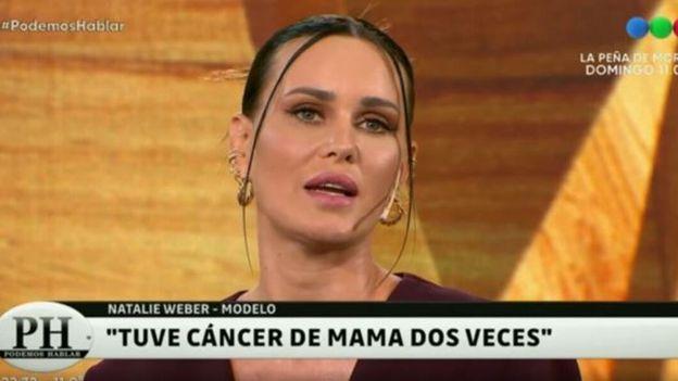 """""""Dije 'ya está, hasta acá llegué'"""", el dramático testimonio de la lucha de Natalie Weber contra el cáncer"""