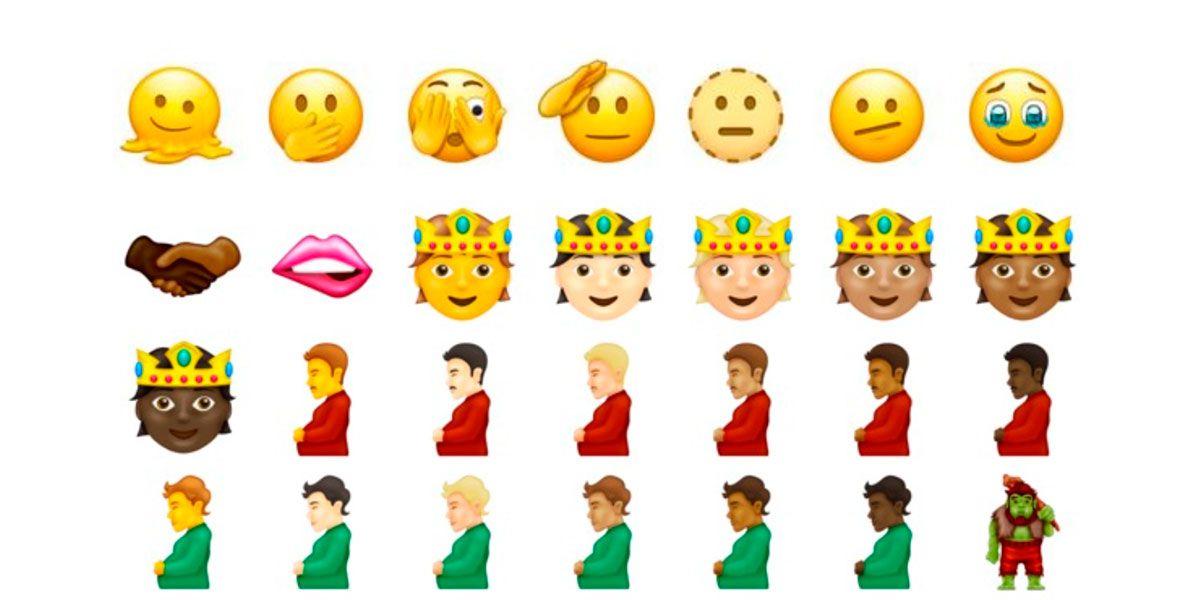 WhatsApp lanza sus emojis por la diversidad género neutro y hasta hombres embarazados