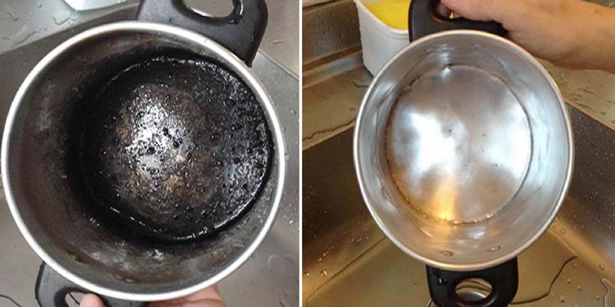 ¿Tenés las cacerolas sucias de quemaduras? Esta es la receta perfecta para que queden relucientes
