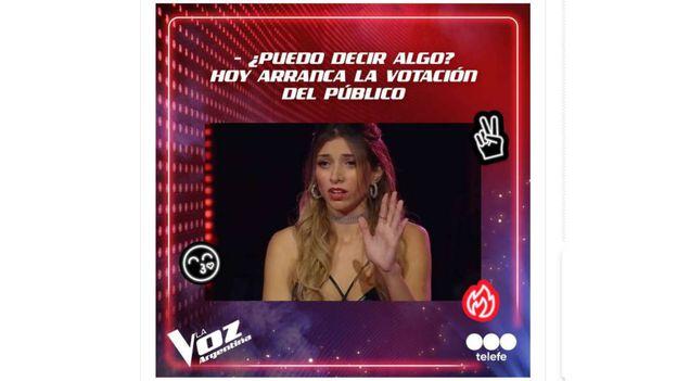 """Una participante de La Voz quiere demandar al reality y apuntó contra el jurado: """"A mí me trató mal"""""""