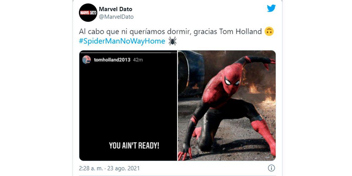 Filtraron el tráiler de la película de Spider-Man No Way Home