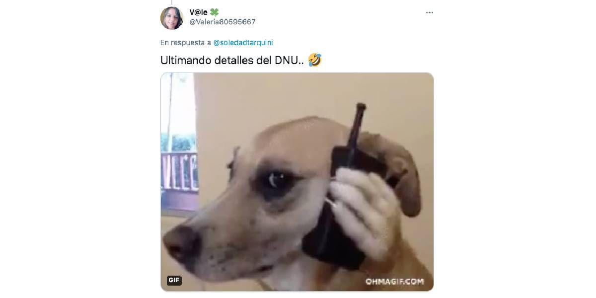 El DNU se hizo esperar demasiado y los memes coparon la parada